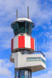lotniczy Amsterdam kontrolny międzynarodowy Schiphol wierza ruch drogowy Zdjęcia Stock
