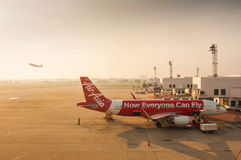 Lotniczy Azja Zdjęcie Stock