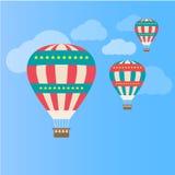 Lotniczy balon Zdjęcia Stock