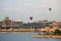 lotniczy balon gorący Putrajaya Zdjęcia Stock