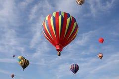 lotniczy balony gorący Fotografia Royalty Free