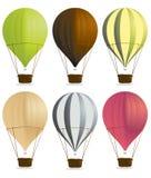 lotniczy balony gorący Zdjęcia Royalty Free