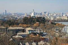 lotniczy Beijing widok miasta Zdjęcia Royalty Free