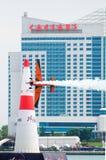 lotniczy byk Canada ściga się czerwonego windsor Fotografia Royalty Free