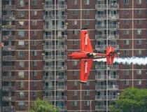 lotniczy byk Ontario ściga się czerwonego windsor Fotografia Royalty Free