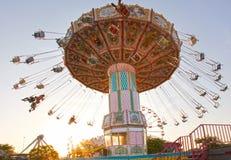 Lotniczy carousel w Florida obraz royalty free