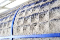 Lotniczy conditioner filtr Fotografia Royalty Free