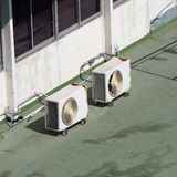 Lotniczy conditioner kompresor Zdjęcia Stock