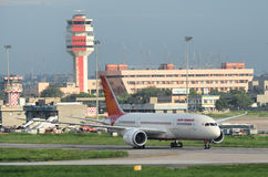 Lotniczy India Pierwszy Boeing 787 Dreamliner Zdjęcie Royalty Free