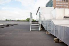 Lotniczy kanały na dachu Zdjęcie Royalty Free