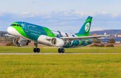 Lotniczy Lingus zdjęcie royalty free