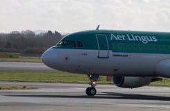 Lotniczy lingus Aerobus A320 obrazy royalty free