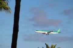Lotniczy Lingus definitywny podejście Arricife fotografia stock