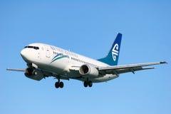 lotniczy nowy Zealand Obrazy Stock