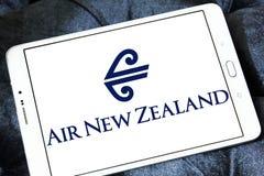 Lotniczy nowy Zealand logo Zdjęcia Stock