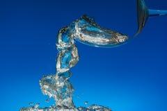 Lotniczy podwodny Abstrakt fotografia royalty free