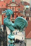 lotniczy Prague widok Fotografia Royalty Free