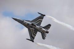 16 lotniczy samolot rozwijać dynamika f jastrząbka myśliwscy boju siły generał dżetowi oryginalnie stan jednoczącego usaf fotografia stock