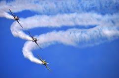 Lotniczy show3 Zdjęcie Royalty Free