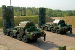Lotniczy systemy obrony S-300 Zdjęcia Royalty Free
