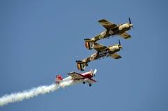 Lotniczy Tercet Bucharest Fotografia Royalty Free