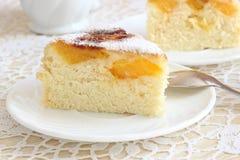 Lotniczy tort z pomarańczami Obraz Stock