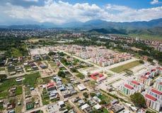 lotniczy widok miasta obrazy royalty free