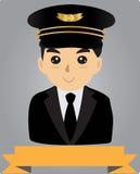 Lotnika pilot Zdjęcie Stock