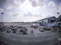 Lotnisko Obraz Stock