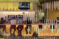 Lotnisko bar Zdjęcie Stock