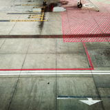 Lotnisko Ground Fotografia Stock