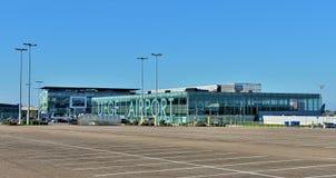 Lotnisko Liege lub liege Zdjęcie Royalty Free
