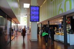 Lotnisko Międzynarodowe Orio Al Serio Zdjęcia Stock