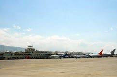 Lotnisko międzynarodowe, Toussaint Louverture miasto Porto Principe Obraz Royalty Free
