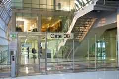 lotnisko nowożytny Obraz Royalty Free