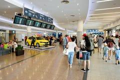 Lotnisko Praga wnętrze Fotografia Stock