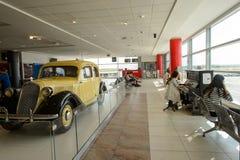 Lotnisko Praga wnętrze Obrazy Stock