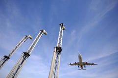 lotnisko samolot zdjęcie royalty free