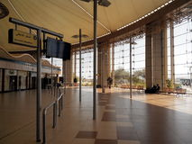 Lotnisko Sharm-el-Sheikh 08 2014 Lipiec Fotografia Royalty Free