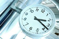 lotnisko zegar Zdjęcie Stock