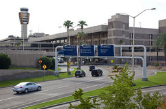 Lotnisko Zmielony transport Obrazy Stock