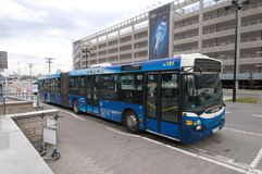 lotniskowa autobusowa usługa Obraz Stock