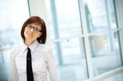 lotniskowa biznesowa kobieta obrazy stock