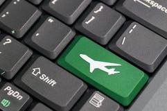 lotniskowa klawiatura Zdjęcia Stock