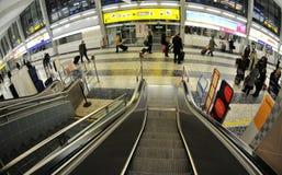 lotniskowa przyjazdowa wyjściowa sala Vienna Fotografia Stock