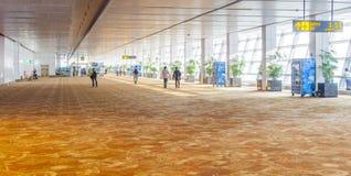 Lotniskowa sala w Delhi Zdjęcie Stock