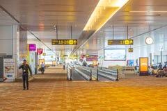 Lotniskowa sala w Delhi Zdjęcia Stock