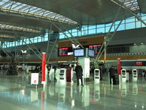 Lotniskowa scena Obraz Stock