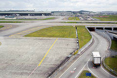lotniskowa sceneria obrazy royalty free