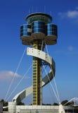 lotniskowa wieża kontrolna Fotografia Royalty Free